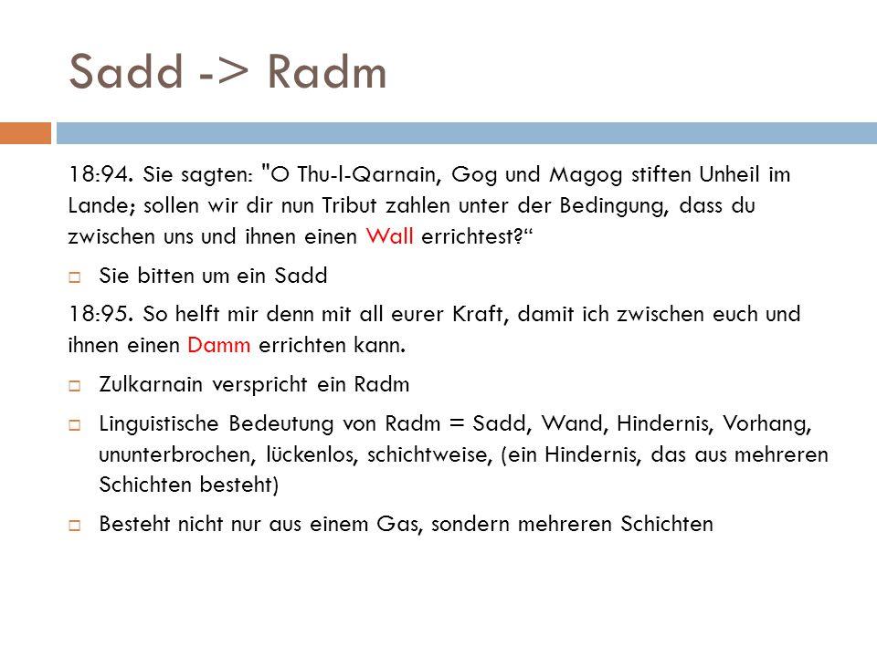 Sadd -> Radm 18:94.