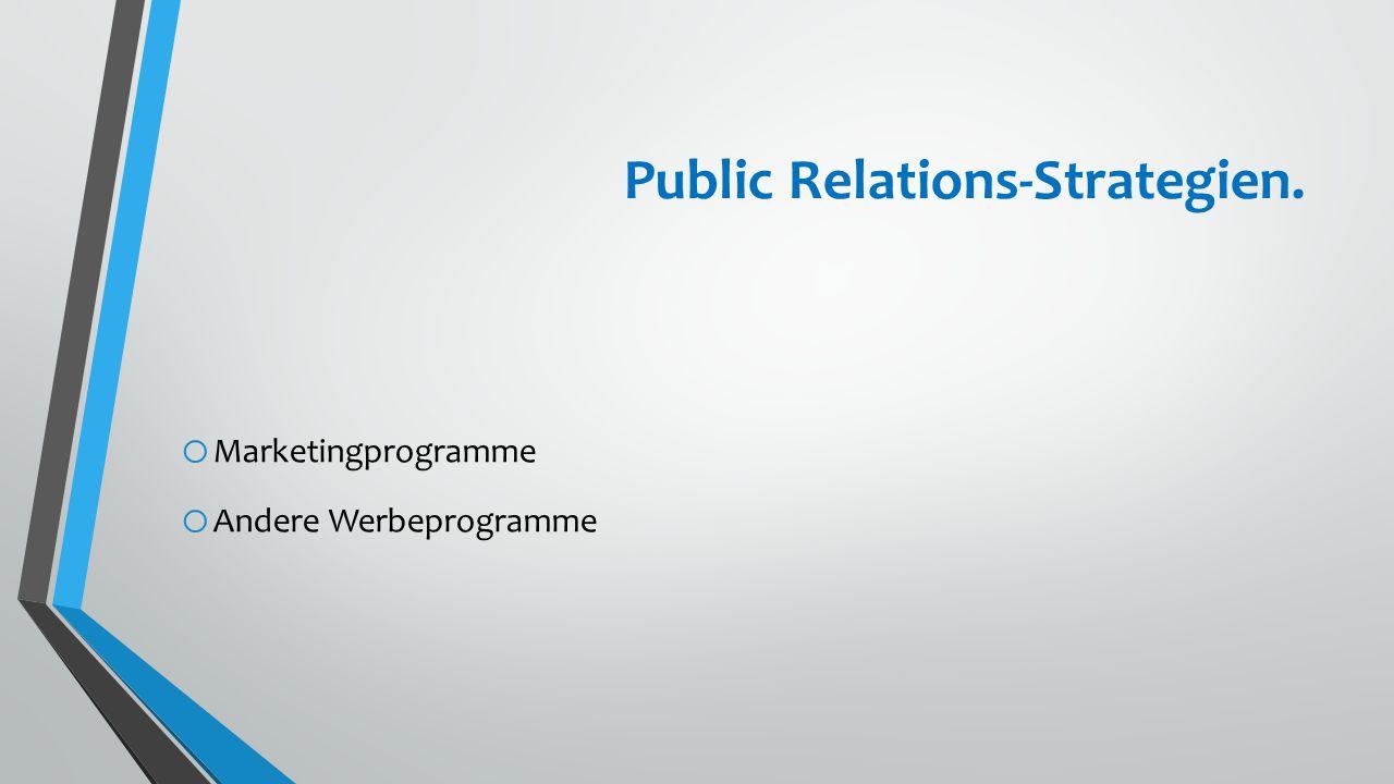 Vertrieb o Vertriebsstrategie o Vertriebskanäle o Vertriebsanteile