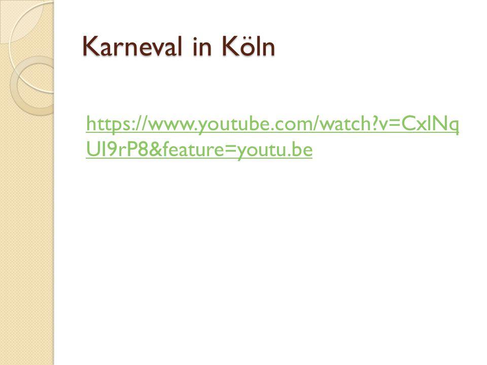 Gruppenarbeit Suchen Sie Information im Internet a) Karneval in Rheinland (Düsseldorf und Köln) b) Fasching in Süddeutschland (z.