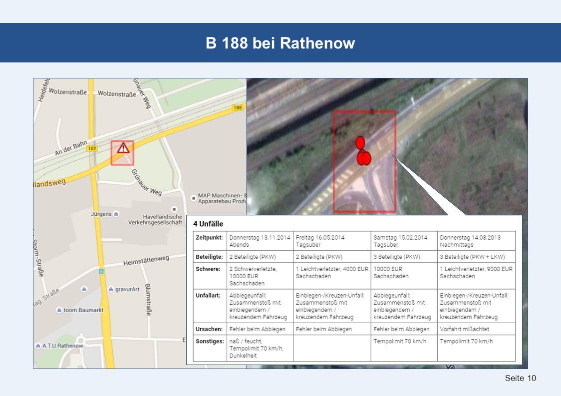 Seite 10 B 188 bei Rathenow