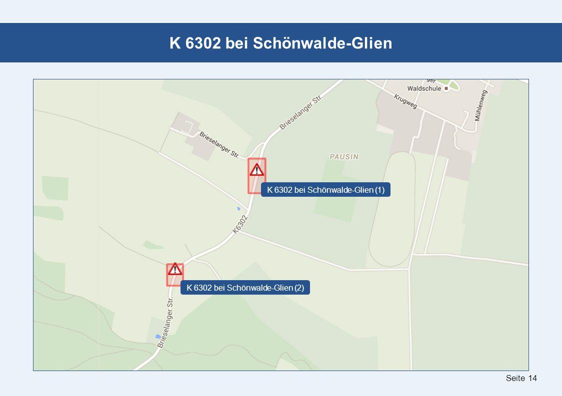 Seite 14 K 6302 bei Schönwalde-Glien K 6302 bei Schönwalde-Glien (1) K 6302 bei Schönwalde-Glien (2)