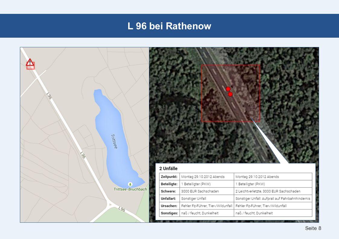 Seite 8 L 96 bei Rathenow