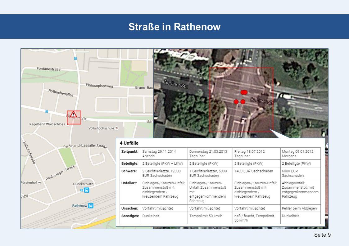 Seite 9 Straße in Rathenow