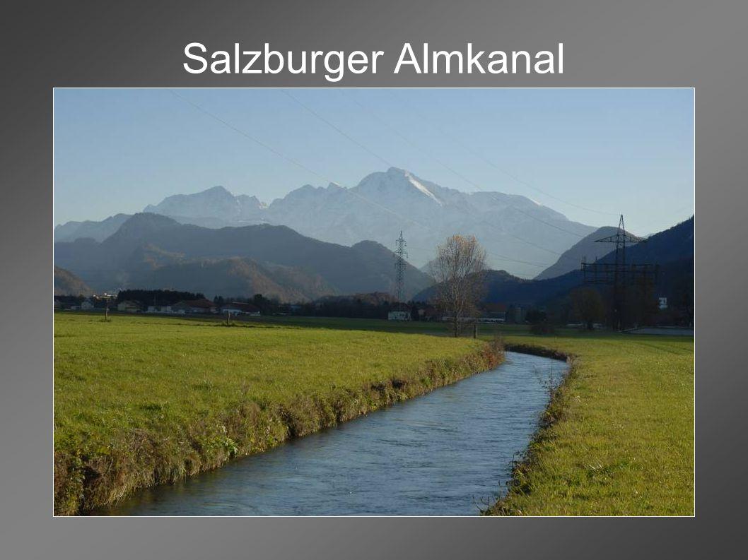 Salzburger Almkanal Kraftwerk Pulvermühle