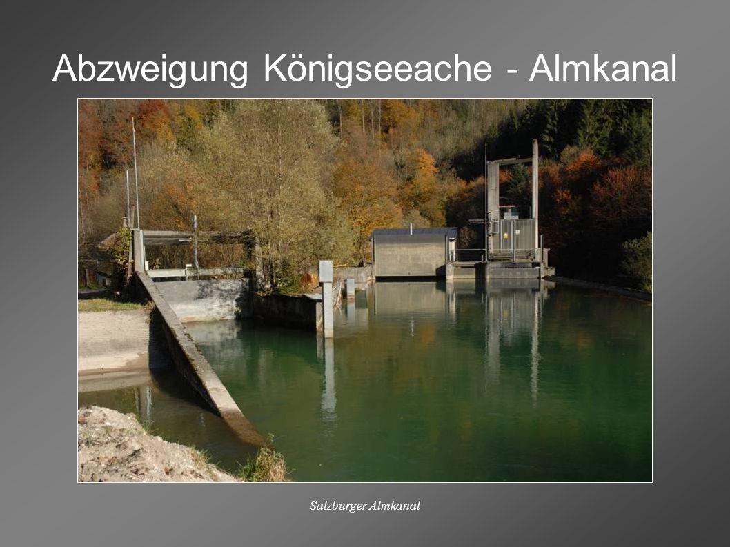 Salzburger Almkanal Am Fuß des Untersberges