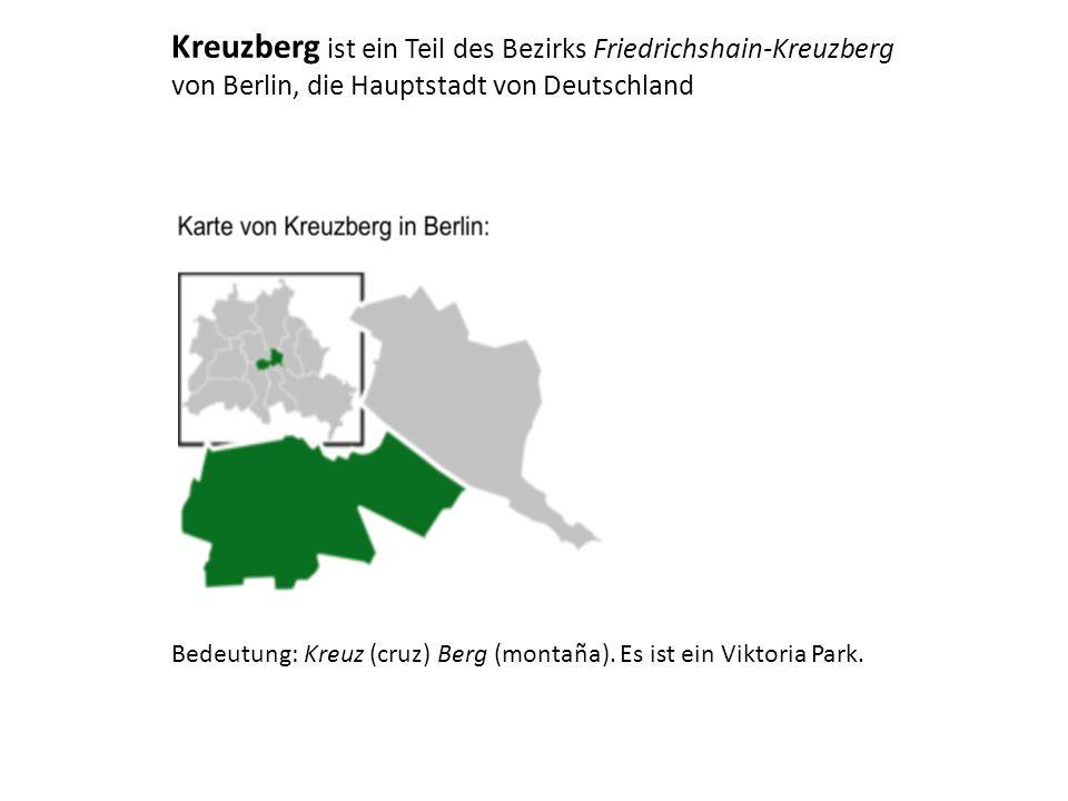 """Oberbaumbrücke (Norden) Skulptur """"MoleculeMan an dem Fluss Spree"""