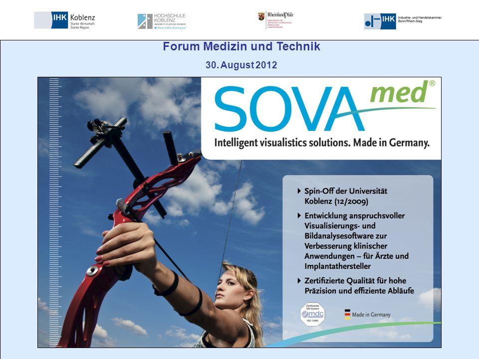 Forum Medizin und Technik 30. August 2012