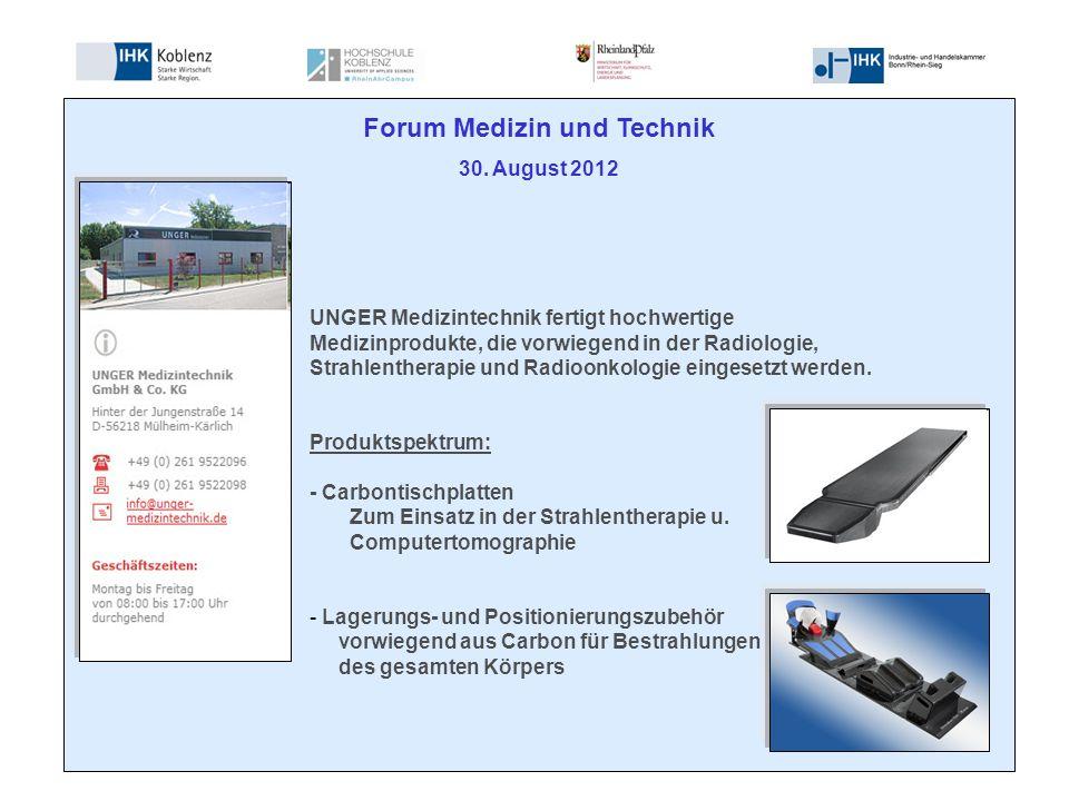 Forum Medizin und Technik 30.