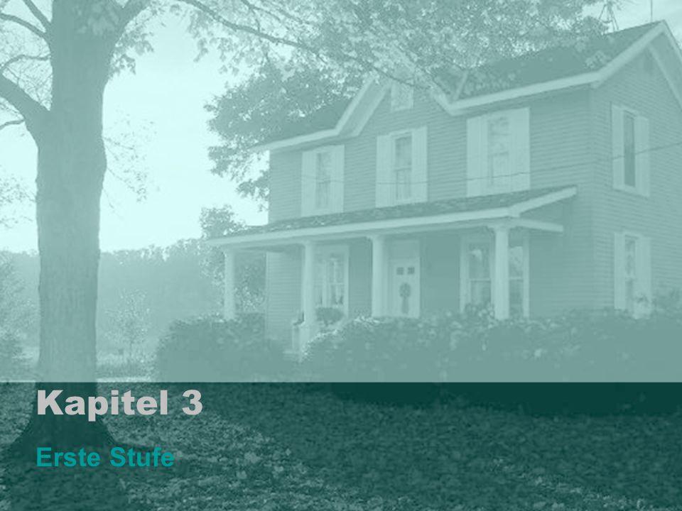 Kapitel 3 Erste Stufe