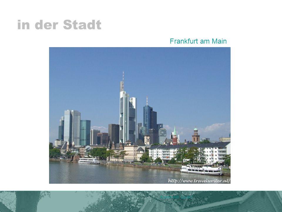 in der Stadt Komm mit! Level I Frankfurt am Main