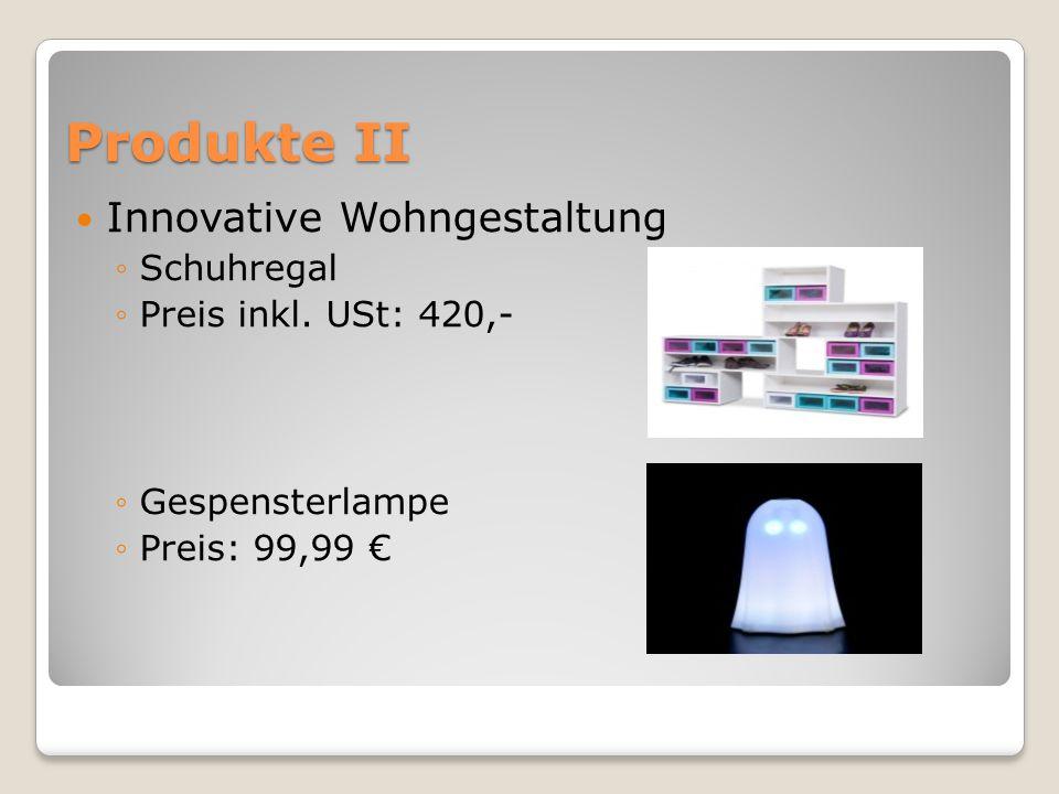 Produkte II Innovative Wohngestaltung ◦Schuhregal ◦Preis inkl.