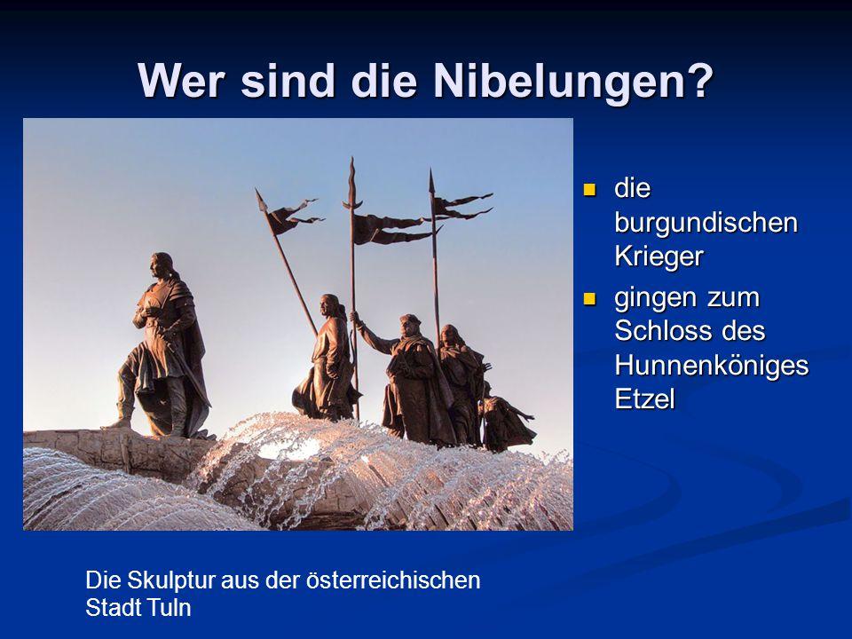 Wer sind die Nibelungen.