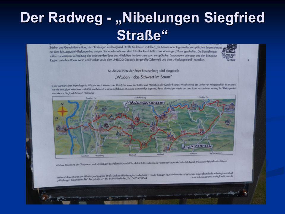 """Der Radweg - """"Nibelungen Siegfried Straße"""