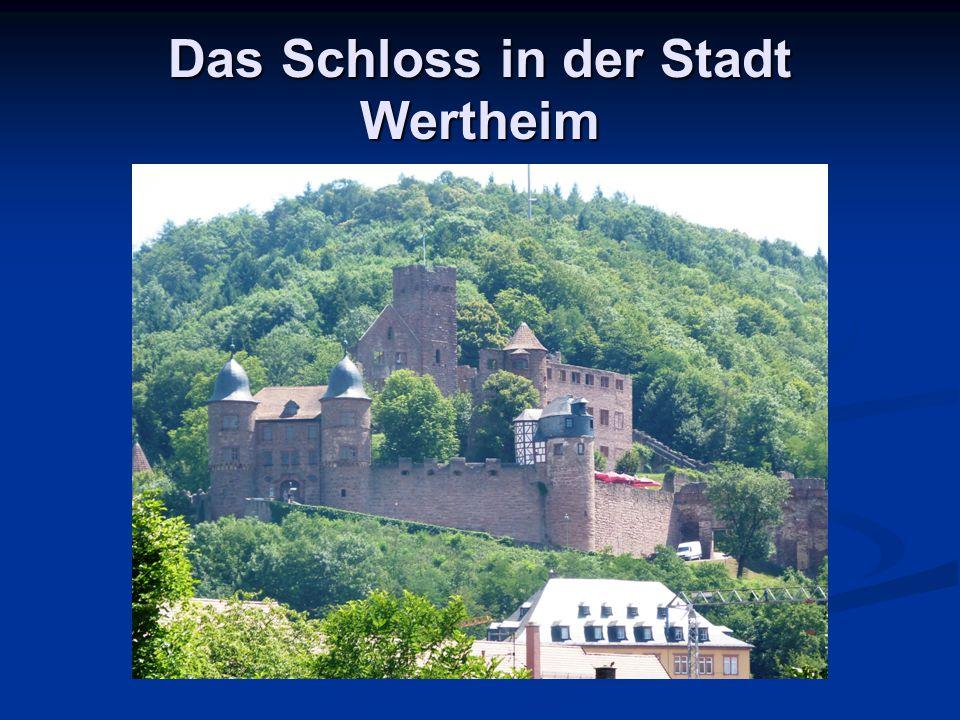 Das Schloss in der Stadt Wertheim