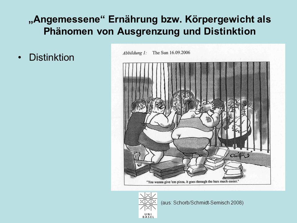"""""""Angemessene"""" Ernährung bzw. Körpergewicht als Phänomen von Ausgrenzung und Distinktion Ausgrenzung Arnold Böcklin: Susanna im Bade,1888 (aus Gilman 1"""