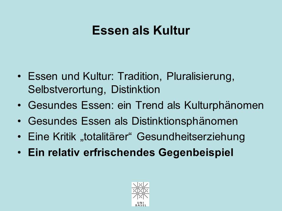 """Eine Kritik """"totalitärer"""" Gesundheitserziehung"""