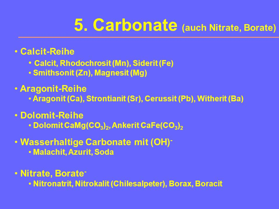 4. Oxide und Hydroxide X 2 O-Verbindungen Cuprit Cu 2 O, Eis X 2 O 3 -Verbindungen Korund, Hämatit, Ilmenit FeTiO 3 XO 2 -Verbindungen Quarz, Rutil, C