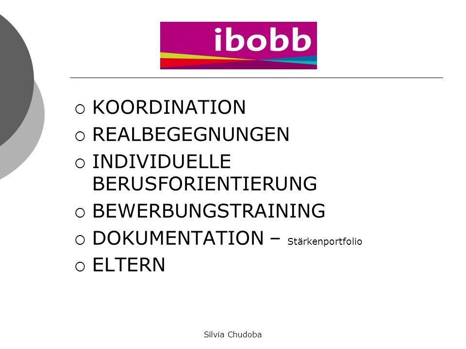 IBOBB Startpaket Mag.a Gabriela Yaldez und Mag.a Helga Gschwandtner Silvia Chudoba