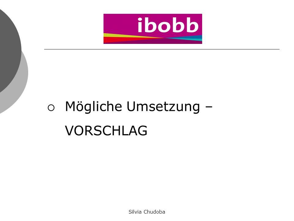 """BO – Portfoliomappen """"Mein Beruf – Meine Zukunft Silvia Chudoba"""