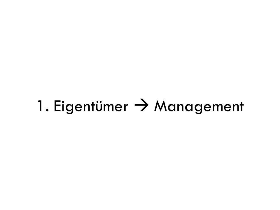 1. Eigentümer  Management