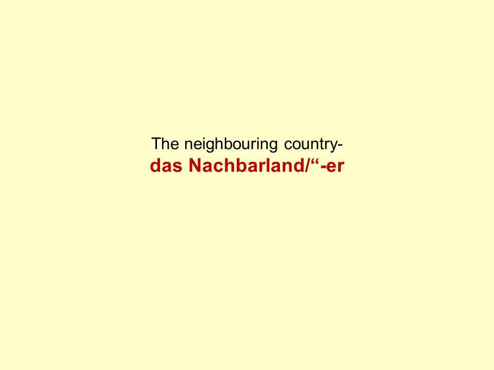Wie heißen Deutschlands Nachbarländer.