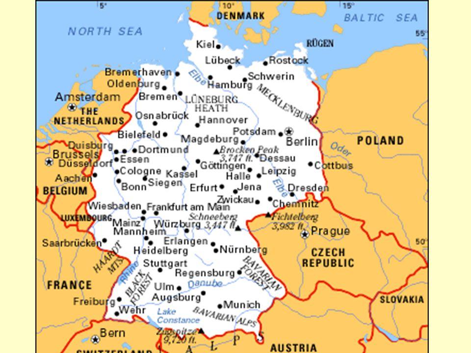 Q and A 3.Wie viele Einwohner hat Deutschland. Deutschland hat ungefähr 82 Millionen Einwohner.