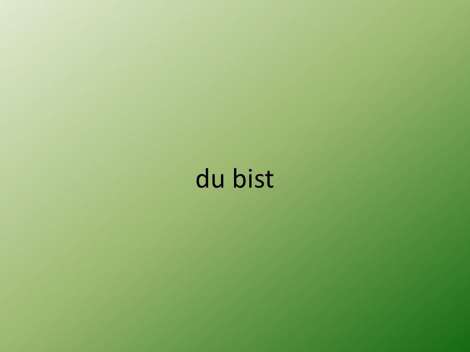 Indikativ Präsens 1.Person Singular su-m 2. Person Singular e-s 3.