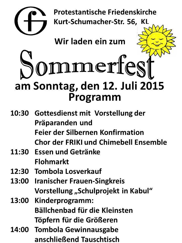 Protestantische Friedenskirche Kurt-Schumacher-Str.