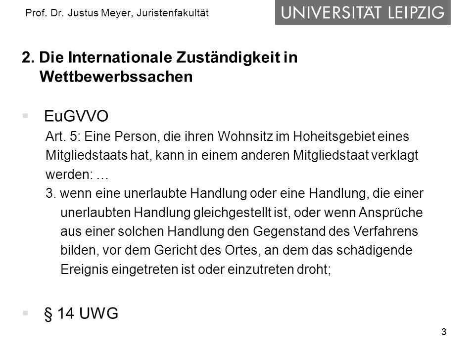 4 Prof.Dr. Justus Meyer, Juristenfakultät 3.