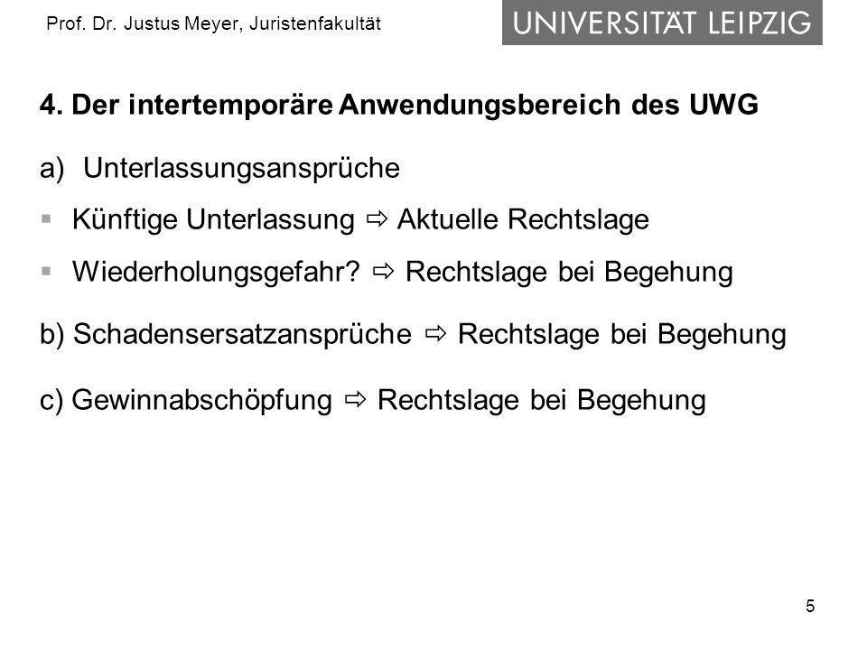 5 Prof. Dr. Justus Meyer, Juristenfakultät 4.