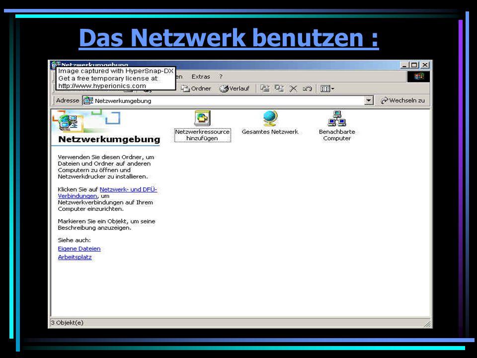 Netzwerknutzung