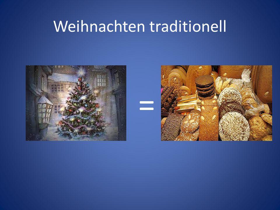 Weihnachten traditionell =