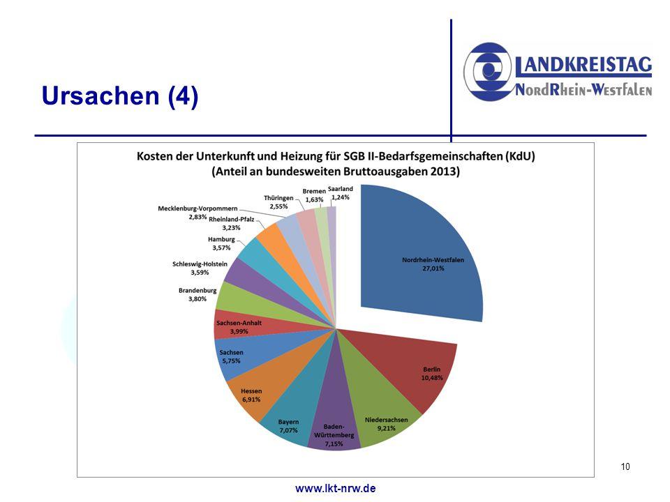 www.lkt-nrw.de Ursachen (4) 10