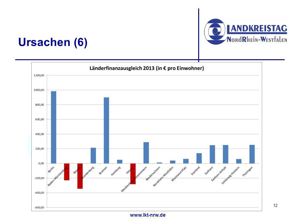 www.lkt-nrw.de Ursachen (6) 12
