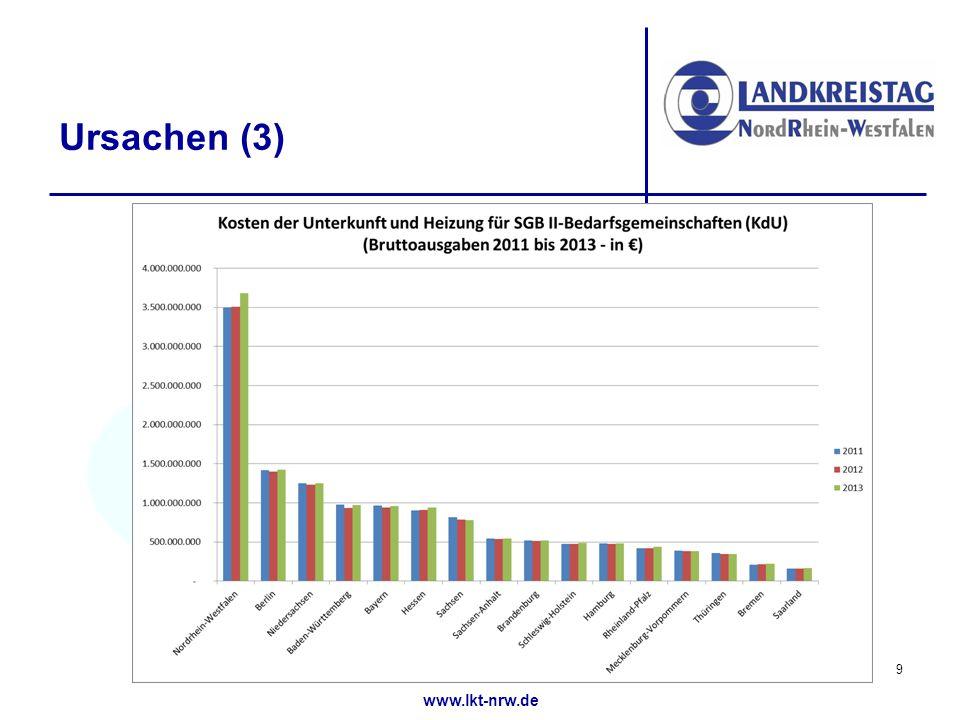 www.lkt-nrw.de Ursachen (3) 9