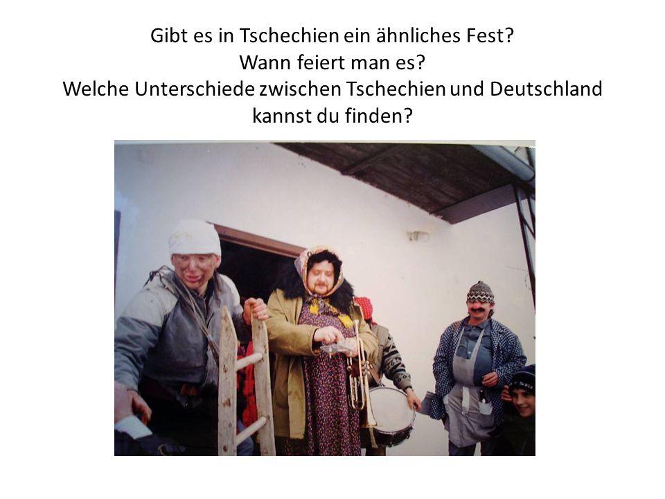 Gibt es in Tschechien ein ähnliches Fest. Wann feiert man es.