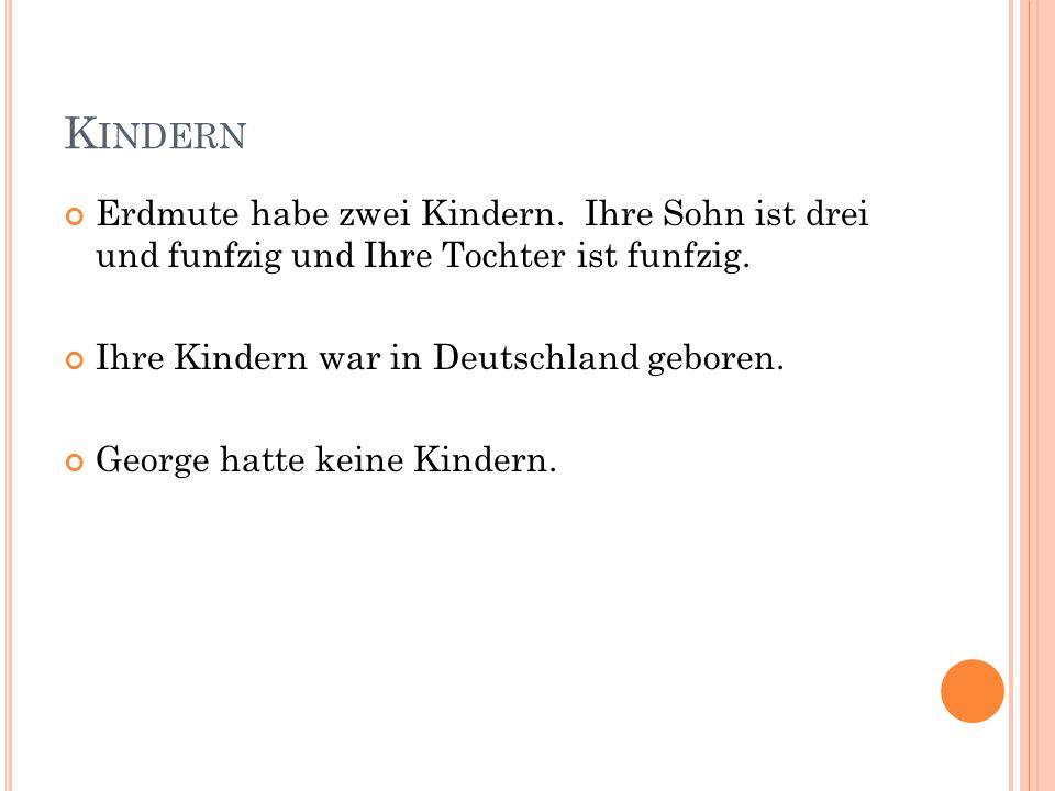 W IE HABEN SIE BEIN DEM SICH KENNEN GELERNT .Sie haben in Deutschland erfüllt.