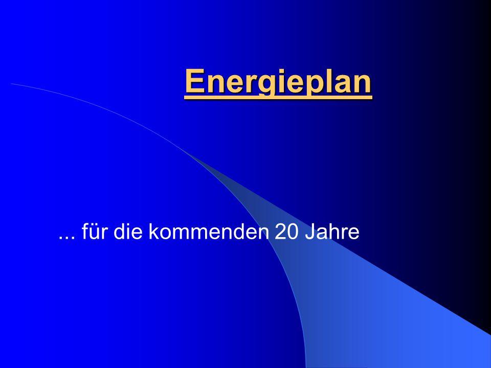 Energieplan... für die kommenden 20 Jahre