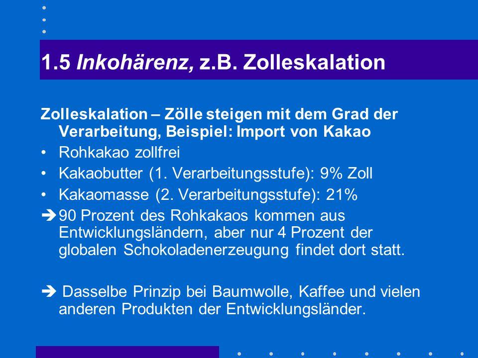 """Die Kehrseite des Exportbooms durch """"Lohnzurückhaltung aus: Verdi, Wirtschaftspolitik aktuell, Juni 2006"""