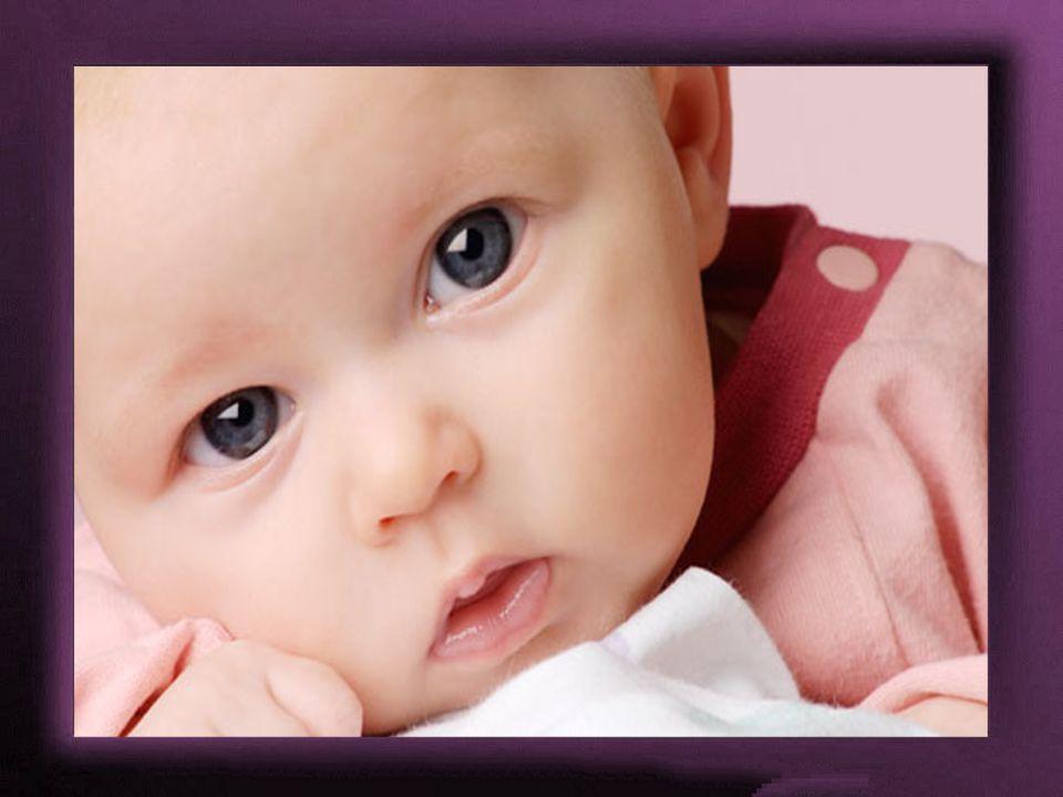 Die Sonne bescheint nur das Auge des Mannes, aber in das Auge und das Herz des Kindes scheint sie hinein.