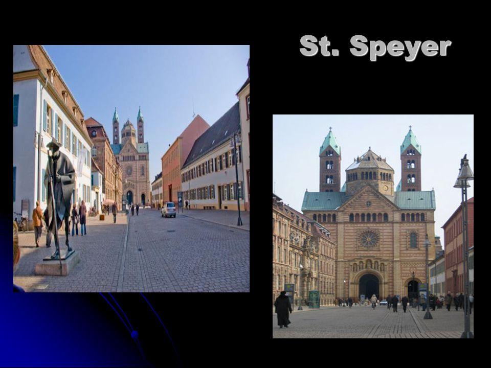 St. Speyer St. Speyer