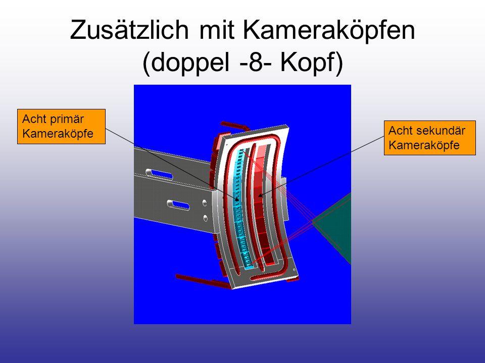 Zusätzlich mit Strahlenschutz Strahlenschutz wird durch das Blech auf das Kühlrohr geschweißt