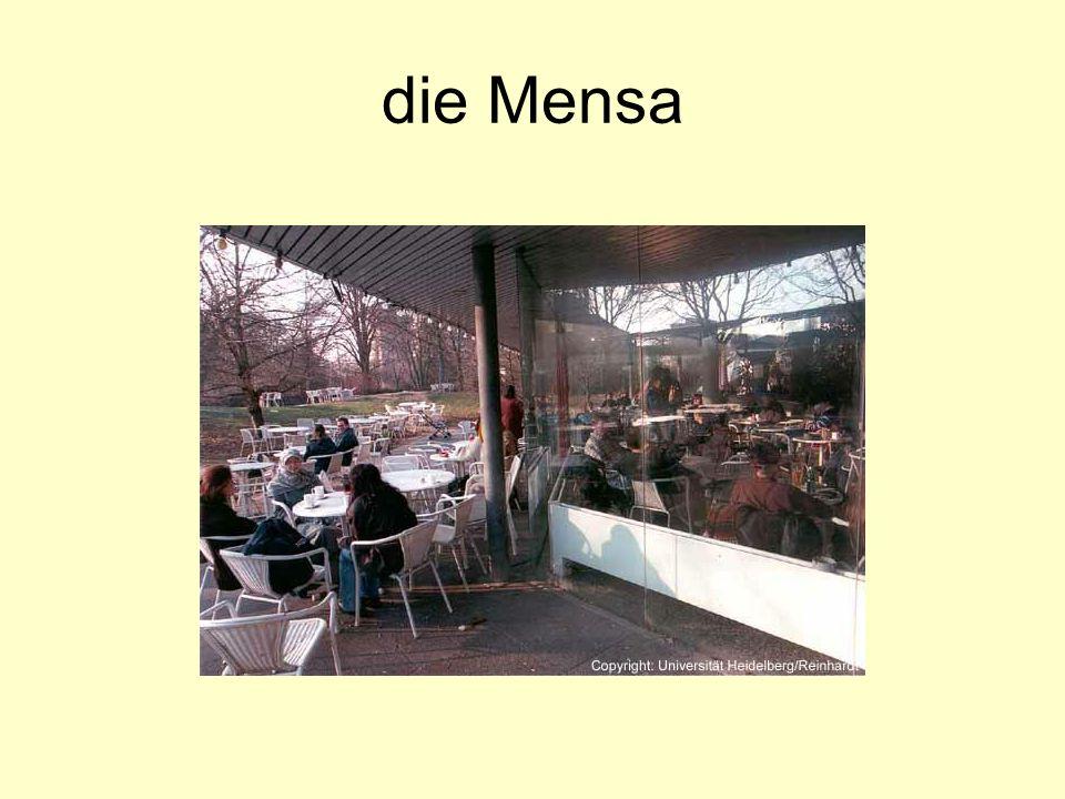 die Mensa