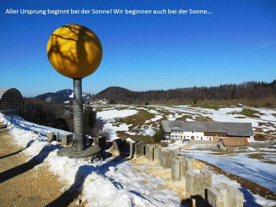 ...und folgen den weiteren Planeten auf dem Jura-Höhenweg