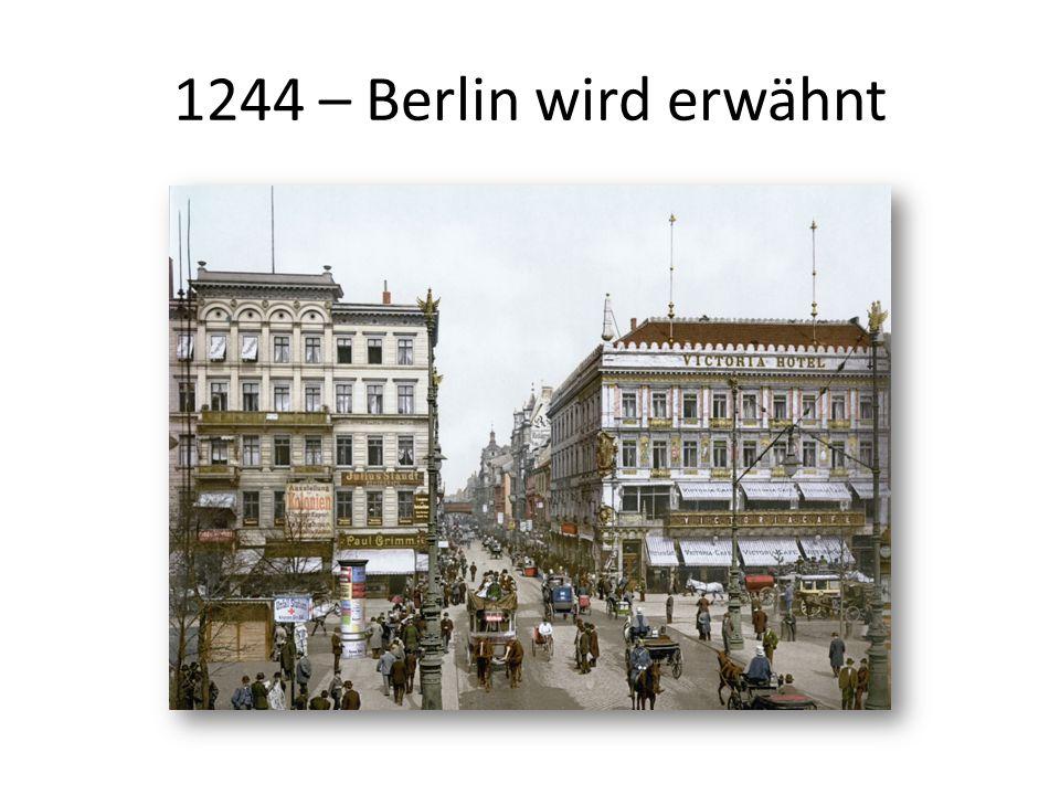 1553 – Einführung der Reformation in Berlin