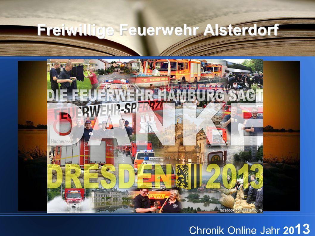 Freiwillige Feuerwehr Alsterdorf Chronik Online Jahr 20 13