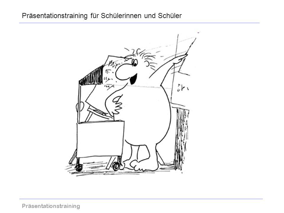 Präsentationstraining wolfram-thom.de Präsentationstraining für Schülerinnen und Schüler