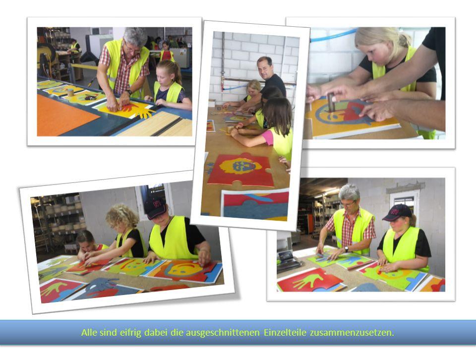 Wir bedanken uns bei der Firma DLW Flooring GmbH für die gelungene Umsetzung unserer Idee.