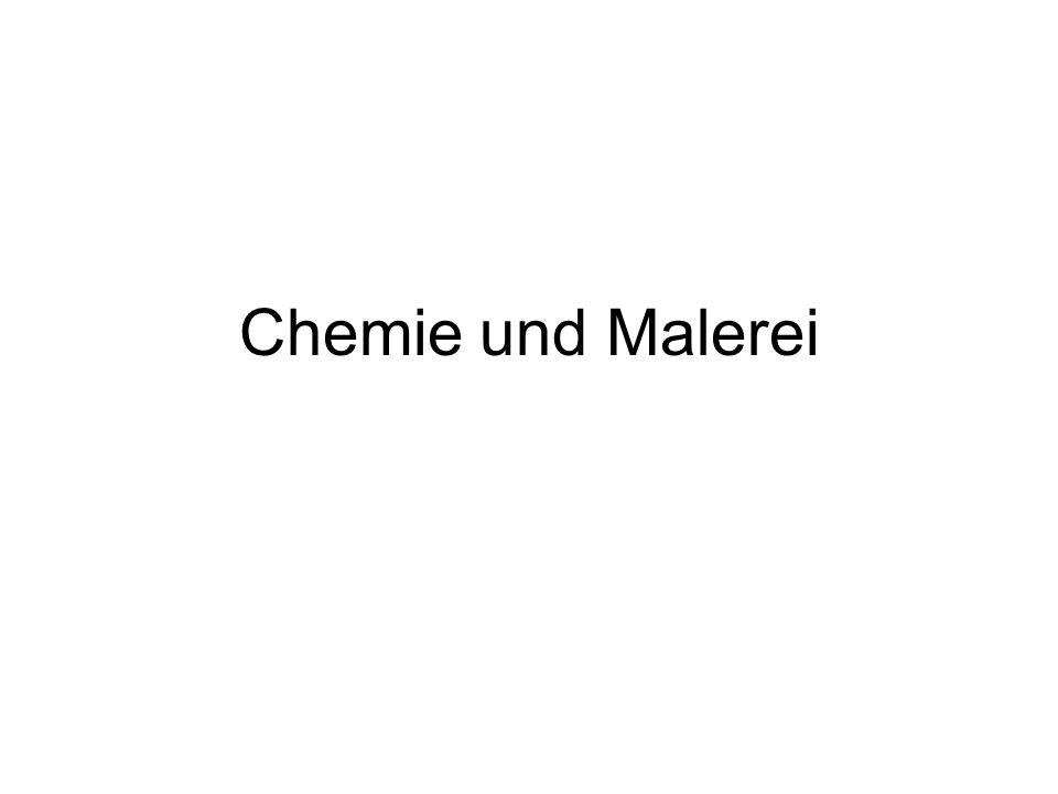 Chemie und Malerei