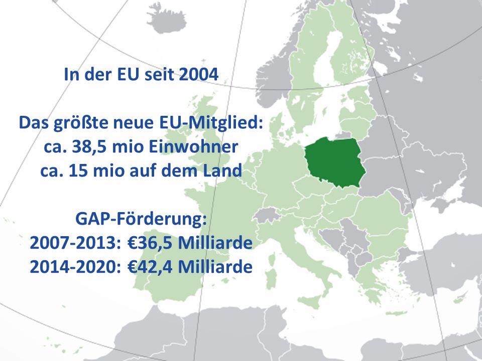 Schwierig Lebensqualität zu definieren und bewerten Im GAP - direkt definiert in den Programme für die Entwicklung des ländlichen Raums 2007-2013 in den Maßnahmen unten der Schwerpunkt 3 und LEADER Indirekt auch unter anderen Maßnahmen und Schwerpunkte Gesamtfinanzierung im Vergleich 2007-2013: €17,2 Milliarden (€3,3 Milliarden für Schw.